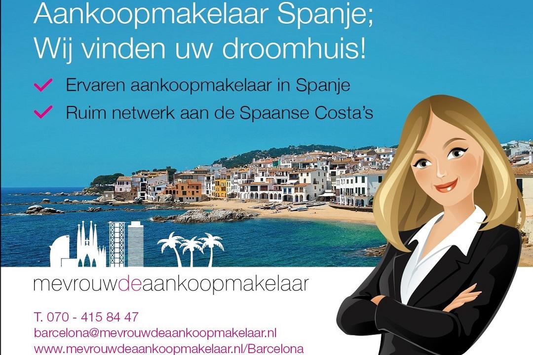 Huis kopen in Spanje Mevrouw de Aankoopmakelaar
